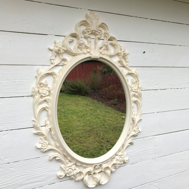 Baroque mirror bathroom mirror ornate shabby cottage chic for Baroque bathroom mirror