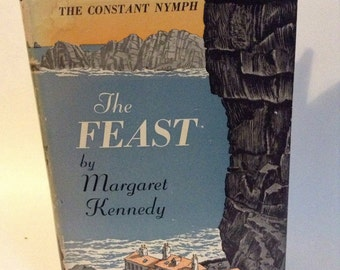 Vintage Book The Feast by Margaret Kennedy 1950