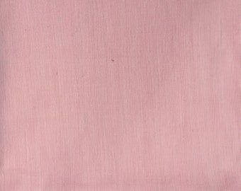 Solid Pink Lightweight Cotton Fabric Remnant 3.5 Yards