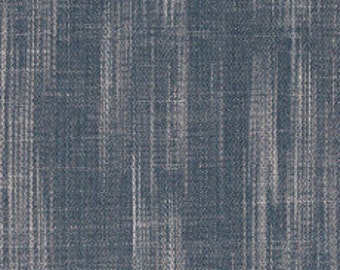 Fabric - Art Gallery -Babbling Brook Crosshatch Textured 10oz Denim