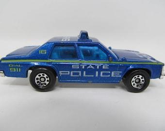 Hot Wheels Police Car 1987 Ford Ltd