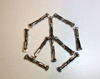 bow tie clips 10 count bow tie hardware bowtie clips bowtie hardware metal clips for bow ties metal clips for bowties clip on bow ties