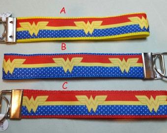 key fob, wristlet, keychain, lanyard - Wonder Woman - M1940