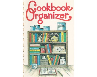 Cookbook Organizer, Recipe File