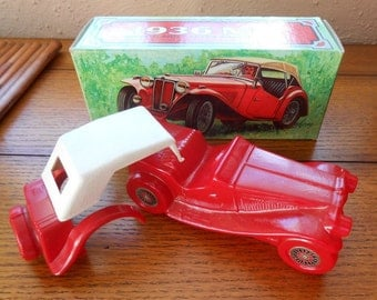 Avon 1936 MG Vintage Car Classic With Removable Top In Original Box Tai Winds
