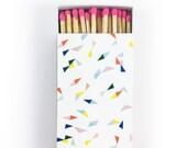 Large Matchbox - Confetti
