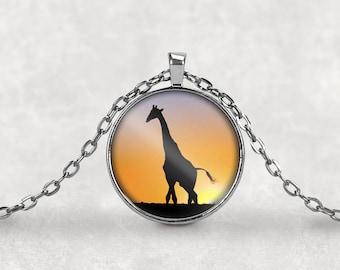 Wild Animal Jewelry•African Animals•African Jewelry•Giraffe Jewelry•Giraffe Necklace•Animal Jewelry•Giraffe Charm•Giraffe•Keyring