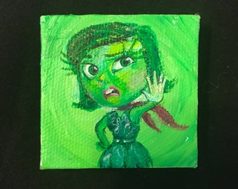 Disgust Tiny Painting