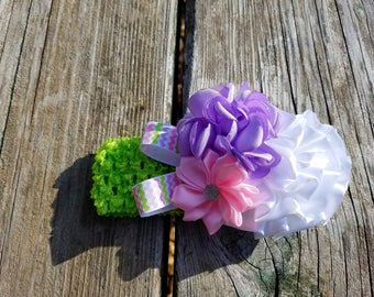 Hair Accessory, Girls Accessory, Photo Prop, Spring Flower, Flower Girl, Easter Headband, Girls Headband, Flower Headband, Hair Flower