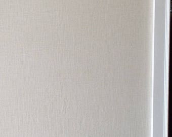 "BULLETIN BOARD- Farmhouse Style 40""x40"" Square Framed Magnetic Board Memo Board Message Board Wedding Magnet Board Linen Board Cottage Style"