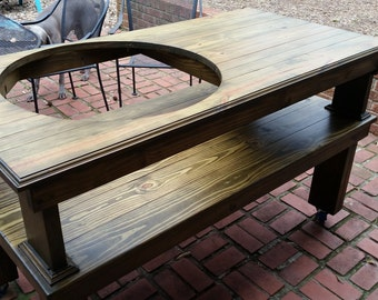 Big Green Egg Table for XL Egg