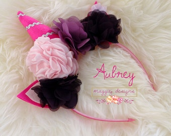 Unicorn Headband - Aubrey