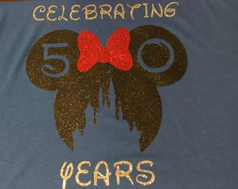 Disney Anniversary/Birthday Shirt