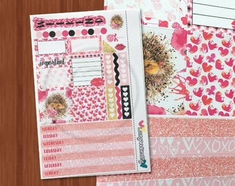 All You Need is Love Mini Kit - Weekly Mini Happy Planner Kit - Planner stickers for Mini Happy Planner, Filofax, and more!