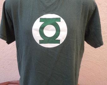 Size L+ (48) ** Green Lantern Shirt (Single Sided)