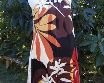 Hawaiian style comfortable dress