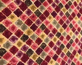 Multi color fabric.  Quilting fabric