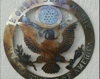 Metal plates,texas,us,firefighters, cross