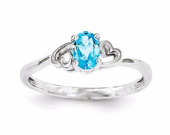 swiss blue topaz ring promise rings for women promise rings for couples cheap engagement rings cheap wedding rings cheap promise rings - Cheap Wedding Rings For Women