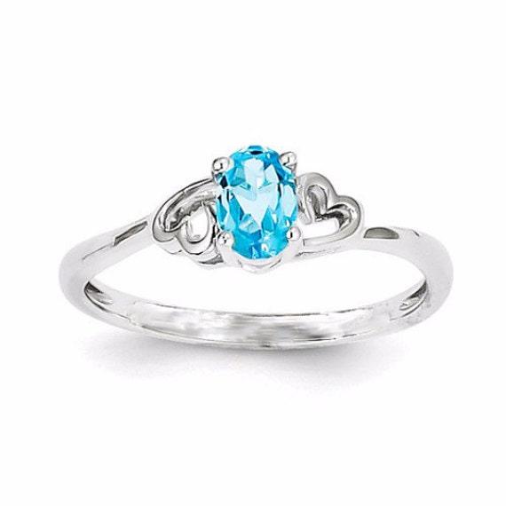 swiss blue topaz ring promise rings for promise rings