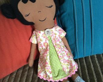 Soft traditional cloth dolls