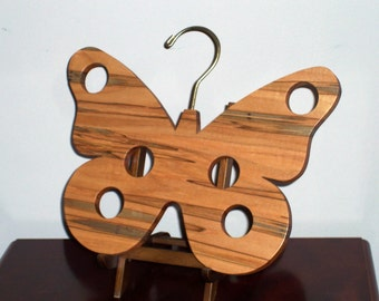 Close Out Sale! Wooden Scarf Hanger-Unique Organizer-Handmade In USA-