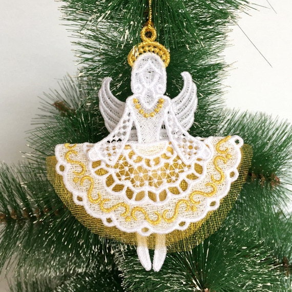 3d Fsl Angels Free Standing Lace Machine Embroidery Designs