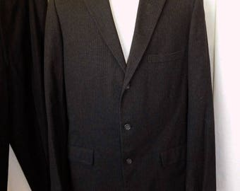 1950's  Men's Pinstripe  Suit