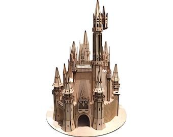 Cinderella Castle Model