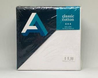 "Art Alternatives Classic Cotton 4""x4"" Gallery 1 3/8 inch Profile"