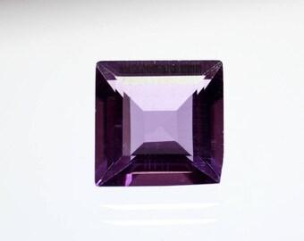 50% OFF - 11mm Amethyst Cushion Shape Purple Amethyst Gemstone Amethyst Gems 11x11x6 mm Cushion Amethyst Stone