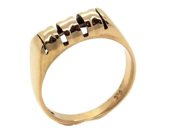Bone Ring, Mens Rings, Mens Gold Rings, Fathers Day, Gold Rings Men, 9ct Gold Men, 9ct Ring, Gold Ring Men, Mens Gold Jewellery, 9ct Gold