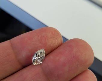 1.44 Carat Marquise Shape G VS2 Diamond Engagement Ring 14K White Gold Anniversary Bridal Fine Make 10 X 6  Rare Gorgeous Must See!