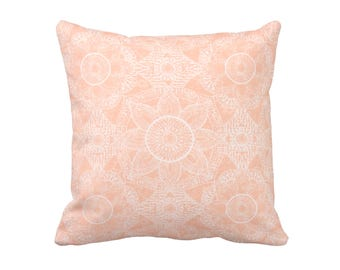 11 Sizes Available: Peach Throw Pillow Cover Peach Pillow Covers Decorative Pillows for Couch Pillows 18x18 Pillow 20x20 Pillow 16x16 Pillow
