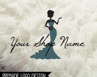 12. Premade Logo Wedding Digital File 300dpi PNG file, personalized with your shop name