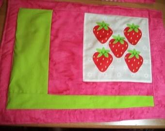 Strawberries & Cherries Place Mat set of 4
