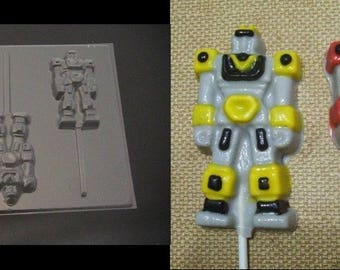 ROBOT CHANGING DUDE Lolli Mold