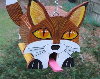 Red Fox birdhouse