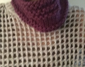 Toasty And Warm Cowl in Fig