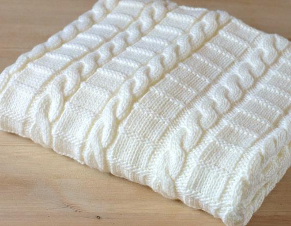 Knitting Patterns Uk For Beginners : Knitting pattern afghan baby blanket sizes easy beginner