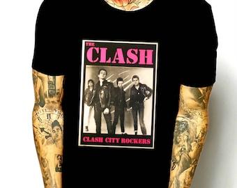 The Clash  city rockers punk shirt M/L