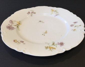 Salad Plate (small): Haviland Limoges Schleiger No. 52H