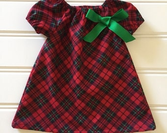 Christmas Dress for Girl, Baby Christmas Dress, Girl Christmas Dress, Baby Girl Dress, Toddler Christmas Dress, Girl Holiday Dress