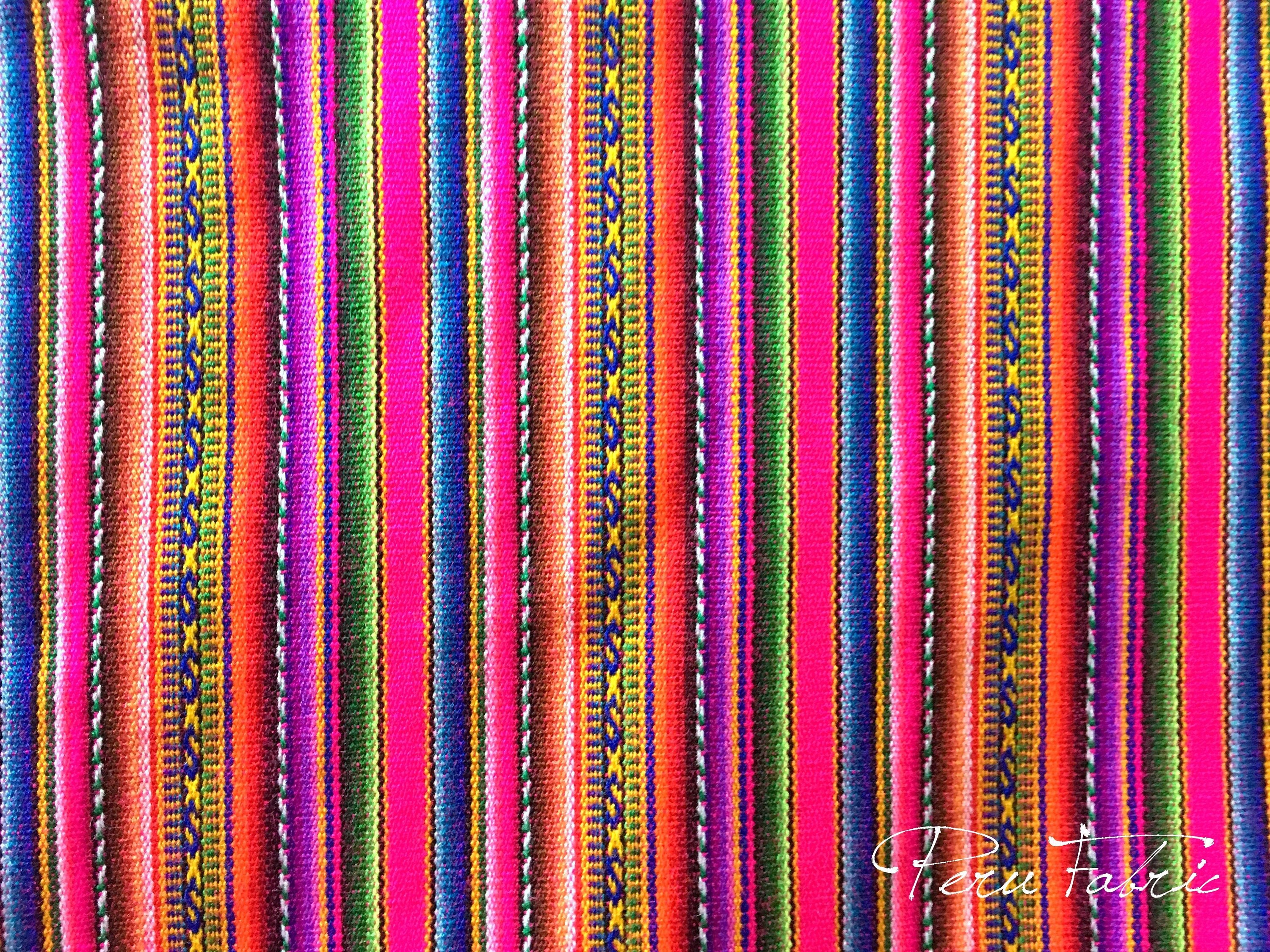 Peru fabric fuchsia stripe by meter fabric for sale for Fabric material for sale
