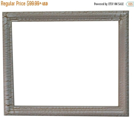 Sale 24x36 Shabby Chic Picture Frame Large Ornate By