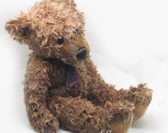 Pumpkin Apple Butter Wax Dipped Scented Bear, Dipped Bears, Scented Wax Bears, Hand Dipped Bears, Flameless, Air Freshener, Teddy Bear
