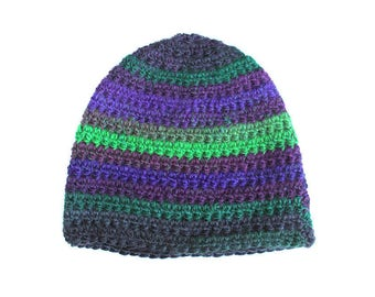 Poison Ivy - Green & Purple, Adult Size Beanie