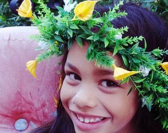 RTS- Little Liliy Meadow Wreath