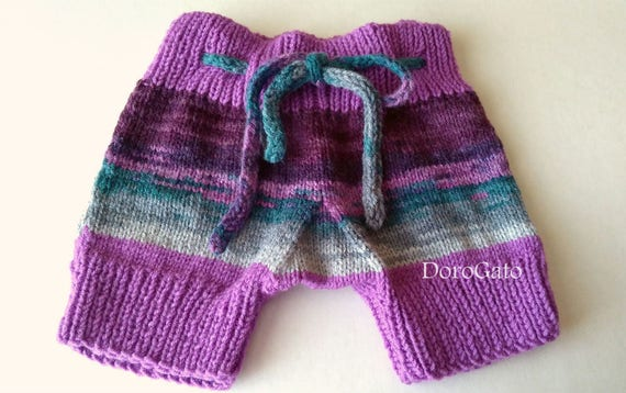 Knit Baby Pants Pattern Knit Pants Baby Shorts by PatternsDG