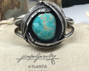 Skycloud Turquoise Sterling Silver Cuff Bracelet